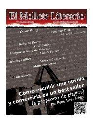 Periódico El Mollete Literario #3 - Transición