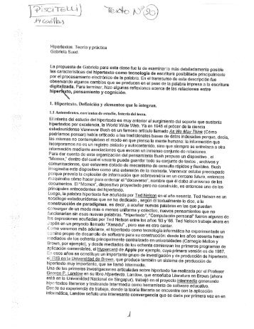 SUED, GABRIELA_Hipertextos. Teoría y práctica - ESTRATEGIA ...