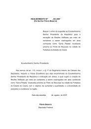 Do Senhor Flávio Bezerra - Câmara dos Deputados