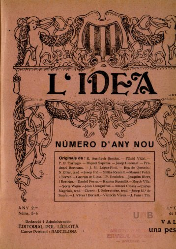 L'Idea - Dipòsit Digital de Documents de la UAB