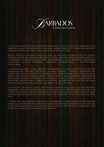 Sugestões de Pauta Barbados 2