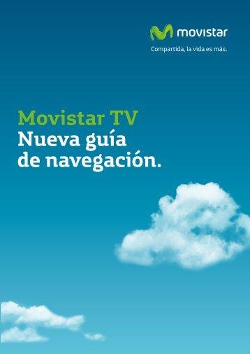Movistar TV Nueva guía de navegación.