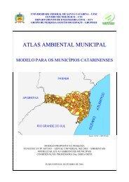 atlas ambiental municipal - Grupo Gestão do Espaço - Universidade ...