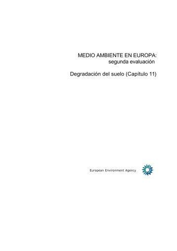 11. Degradación del suelo (.pdf) - European Environment Agency ...