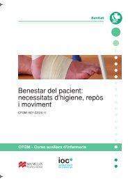 Benestar del pacient: necessitats d'higiene, repòs i moviment - IOC