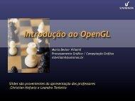 Introdução ao OpenGL - Unisinos