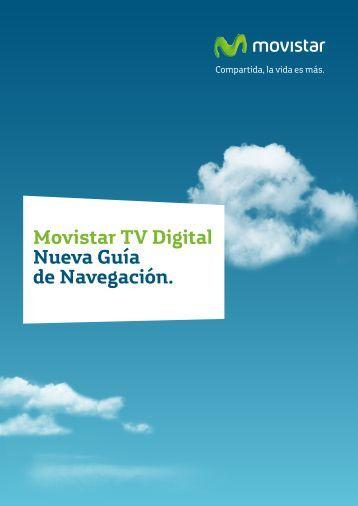 Movistar TV Digital Nueva Guía de Navegación.