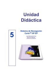 Unidad Didáctica Sistema de Navegación CartoTM XP EP