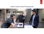 Adobe Creative Suite Printing Guide