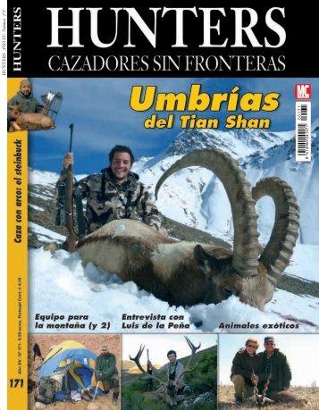 HUNTERS AÑO XV- Numero 171 ´ - Armada Expediciones