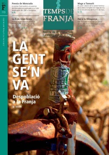 abril 2012 - Associació Cultural del Matarranya