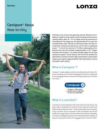 Carnipure™ focus Male fertility - Bricker Labs