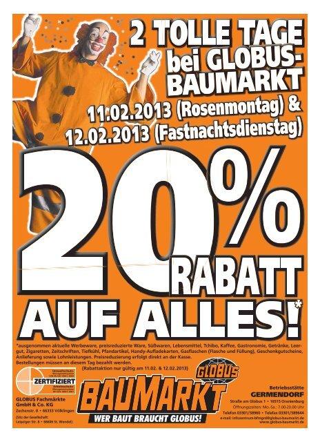 globus baumarkt oranienburg