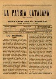 revista de literatura, ciencias, arts e interessos locals.