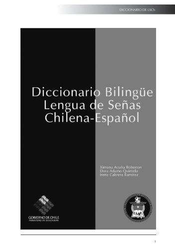 DICCIONARIO DE LSCh