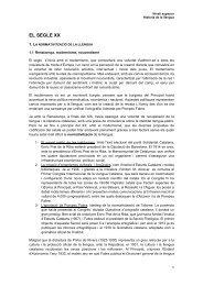 EL SEGLE XX - Blocs del CPNL