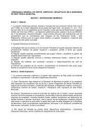 ordenança general de gestió, inspecció i ... - Ajuntament de Vic