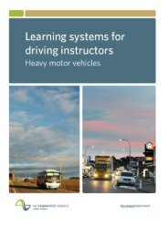 Learning systems for driving instructors: heavy motor vehicles 145 ...