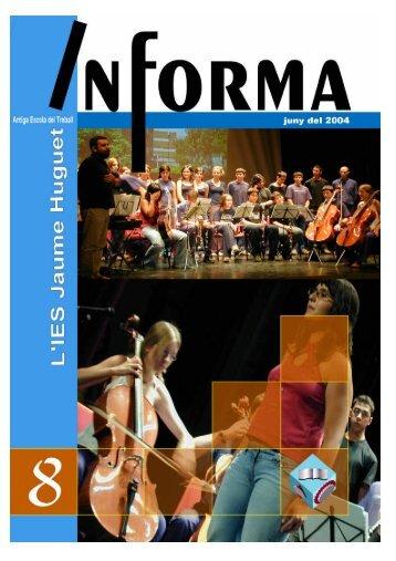 Revista Informa n. 8, juny 2004 - Institut Jaume Huguet