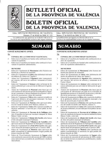Bil 27-mayo-2008 n.º 125.indd - Ajuntament de Villanueva de ...