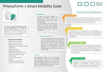 PrismaTerm » Smart Mobility Suite - GOD BM