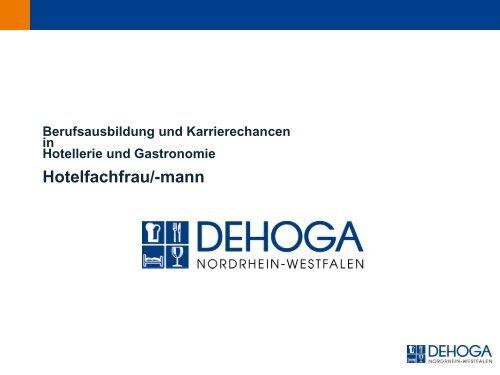 Hotelfachmann-/frau - DEHOGA Gastgewerbe NRW