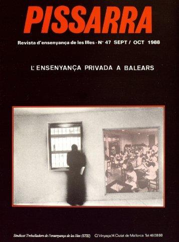 lensenyança privada a balears - Biblioteca Digital de les Illes ...