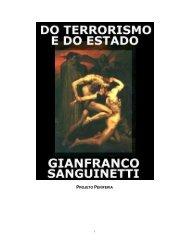 Do Terrorismo e Do Estado - Gianfranco Sanguinetti - eBooksBrasil