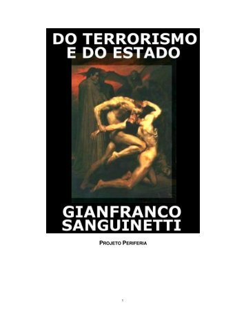 Do Terrorismo e Do Estado - Gianfranco Sanguinetti - eBooksBrasil