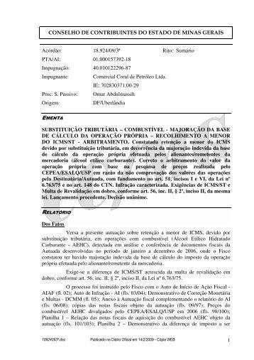 Microsoft Word - 18924093\252.doc - Secretaria de Estado de ...