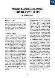 15. Métodos diagnósticos en alergia. Técnicas in vivo e in vitro
