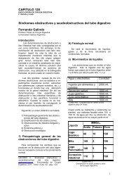 Sindromes obstructivos y seudoobstructivos del tubo digestivo