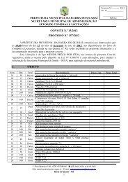 convite 15 - aquisição de material ambulatorial - Prefeitura ...