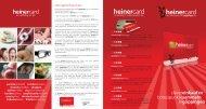 Nähere Informationen zur heinercard - göppingercity eV / heinercard