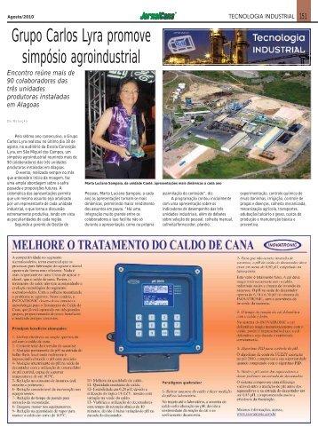 Grupo Carlos Lyra promove simpósio agroindustrial - Inovatronic