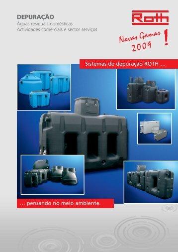 1. águas residuais domésticas. - Início Roth Portugal