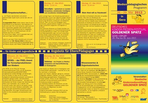 Download Programm (pdf) - Goldener Spatz