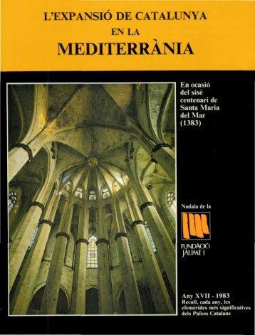 Nadala_1983_L´expansió de Catalunya en la mediterrània