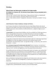 Einladung und Antwortfax - Goldener Spatz
