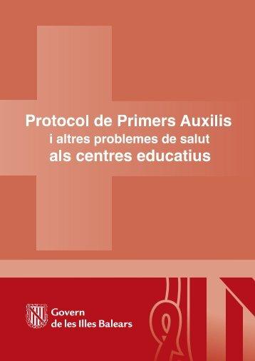 D) Protocol de Primers Auxilis (2322Kb) - Govern de les Illes Balears