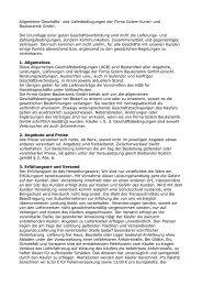 Allgemeine Geschäfts- und Lieferbedingungen der Firma Golem Kunst