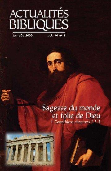 Actualités bibliques - Canadian Bible Society