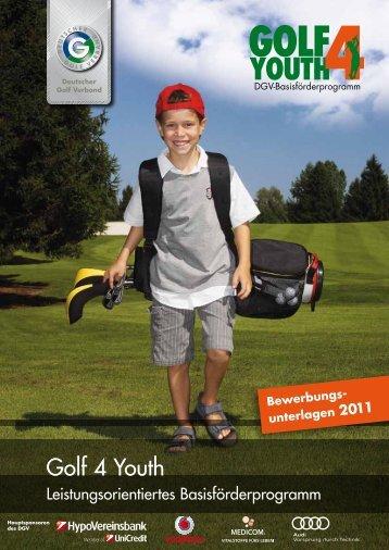 Broschüre DGV-Basisförderprogramm Golf 4 Youth als PDF - Golf.de