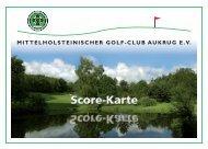Untitled - mittelholsteinischer golf-club aukrug ev