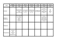 3-Wochen Veranstaltungsübersicht - Golf-Club Buxtehude