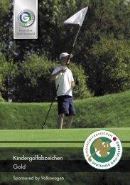 DGV-Kindergolfabzeichen in Gold - Golf-Club Buxtehude