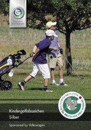 DGV-Kindergolfabzeichen in Silber - Golf-Club Buxtehude