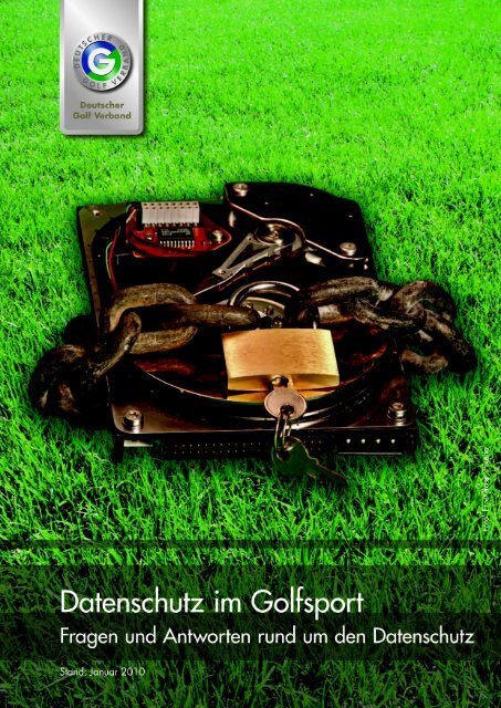 Datenschutz im Golfsport Januar 2010 - Golf.de