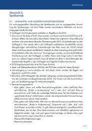 Abschnitt 2. Spielbetrieb - Golf.de