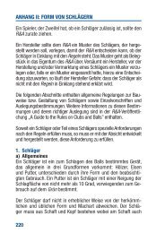 Anhang II Form von Schlägern - Golf.de